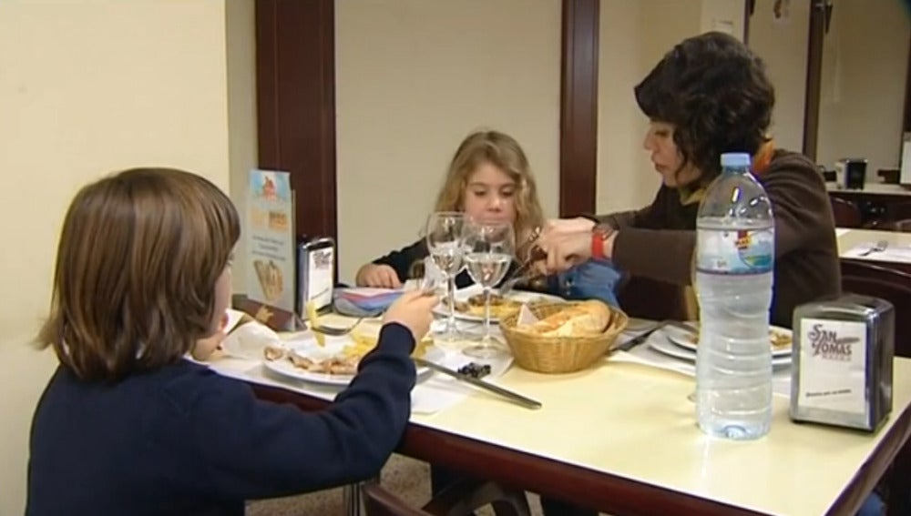 Colegiales sin comedor escolar
