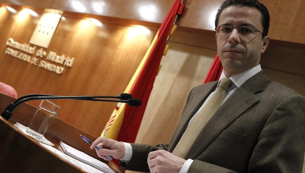 El consejero madrileño de Sanidad, Javier Fernández-Lasquetty