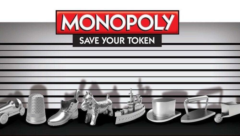 Las tradicionales fichas del Monopoly... hasta ahora
