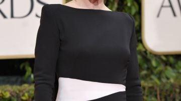 Julianne Moore eligió un elegante Tom Ford