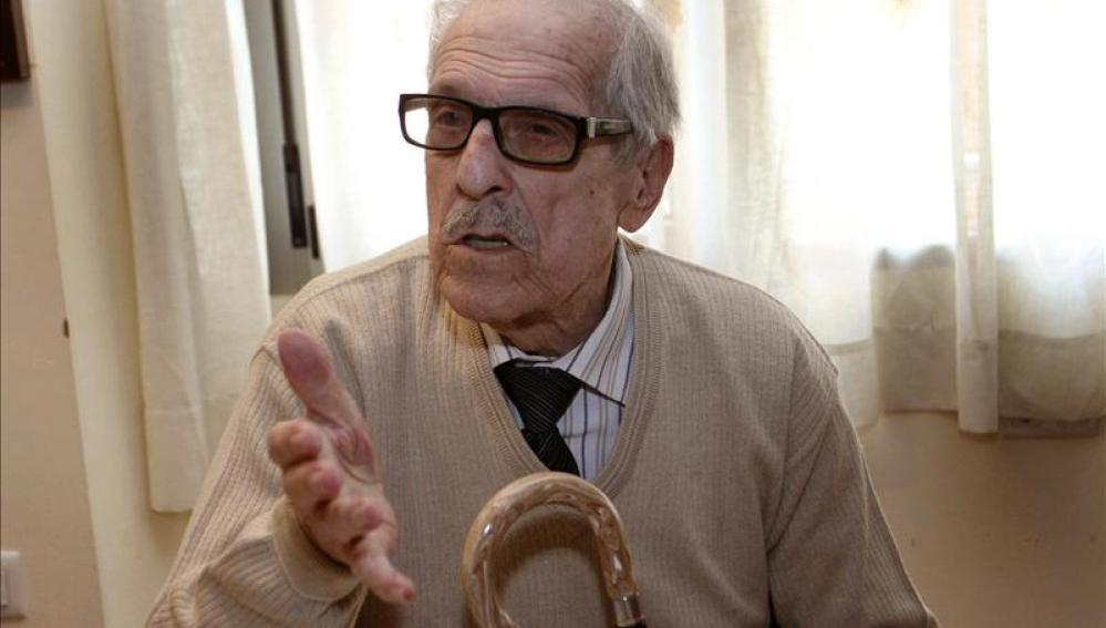 El escritor José María Fernández Nieto