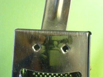 'Sonrisa' del rallador