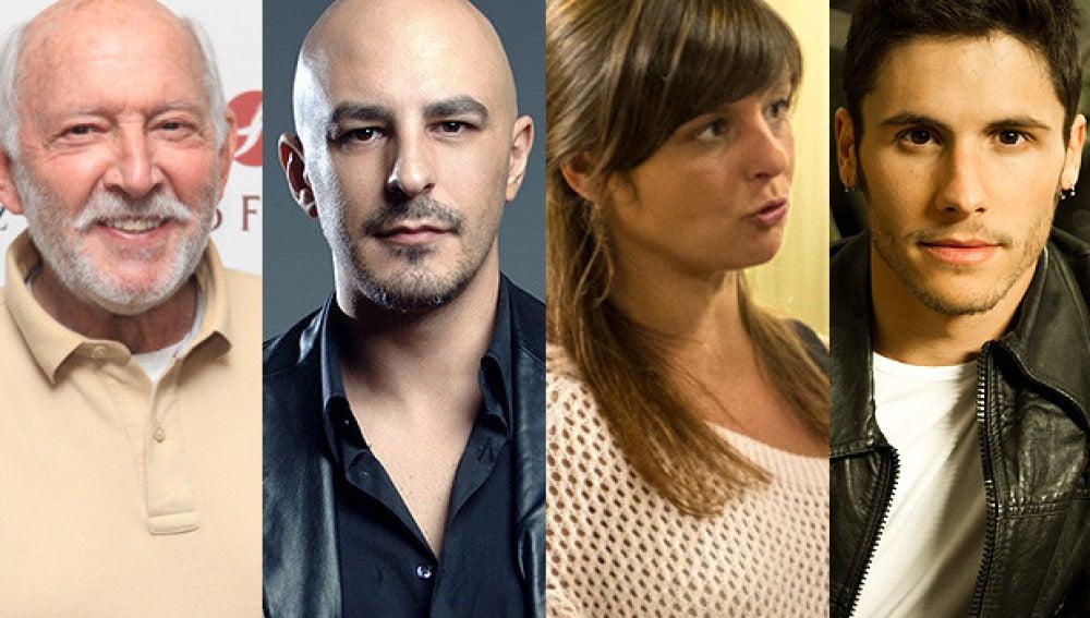 Álvaro de Luna, Roberto Álamo, Estefanía de los Santos y Álex Hernández