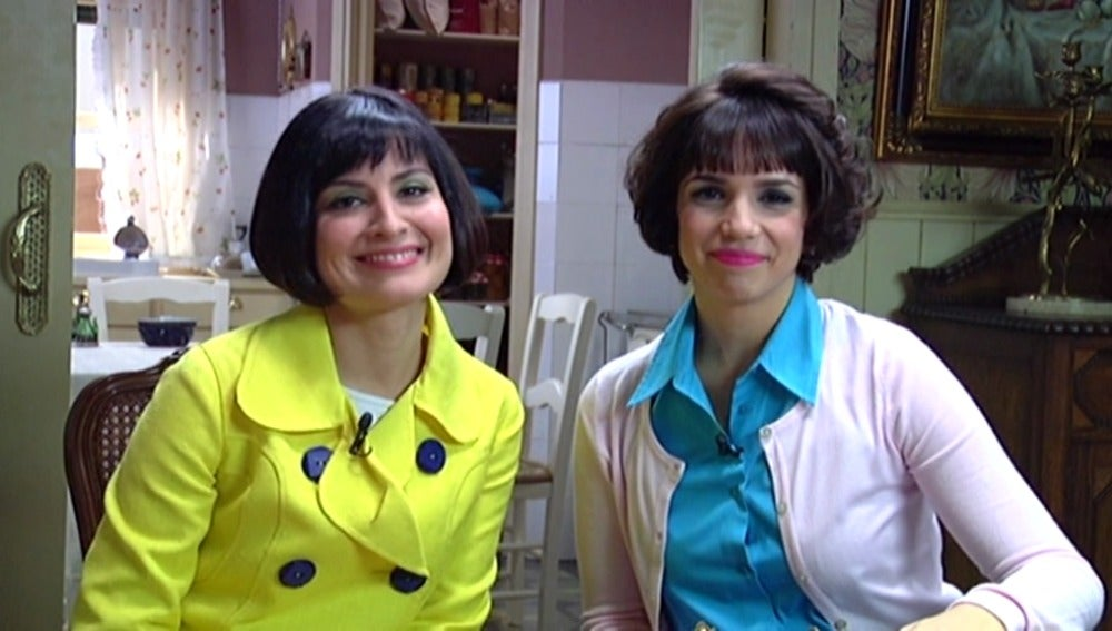 Ledicia Sola y Elena Furiase