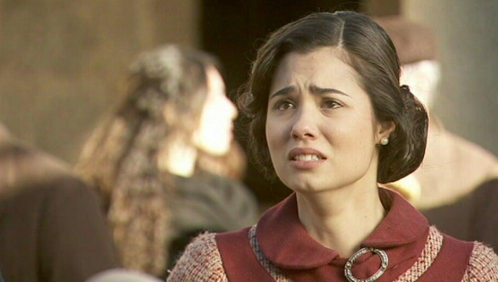 María tiene pruebas para demostrar que Gonzalo es inocente