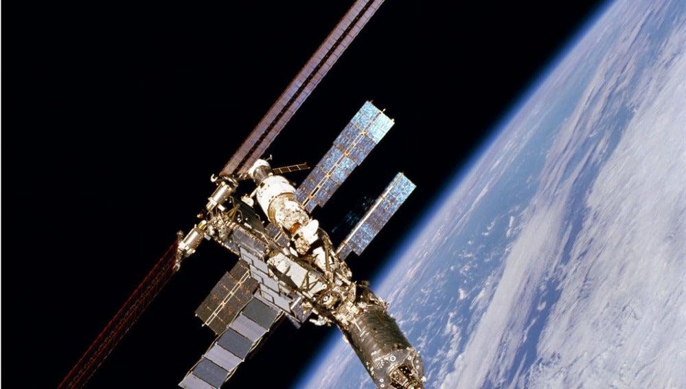 Imagen de un satélite espacial