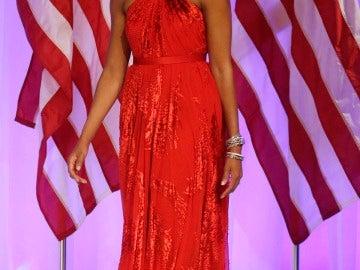 Michelle Obama en la envestidura de su marido