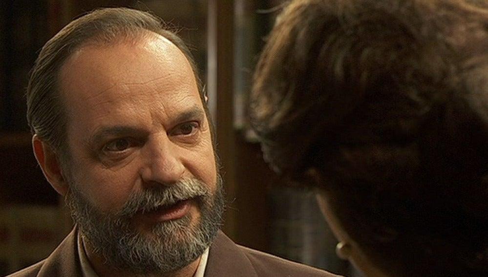 Raimundo pedirá a Francisca que reponga a Tristán en su testamento