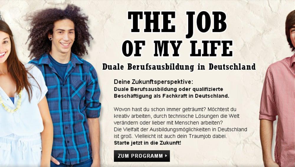 Portal de empleo para jóvenes europeos en Alemania