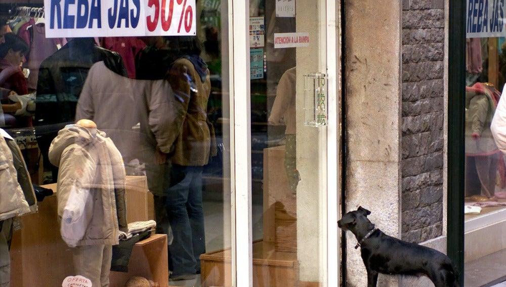 Las ventas del comercio minorista cae