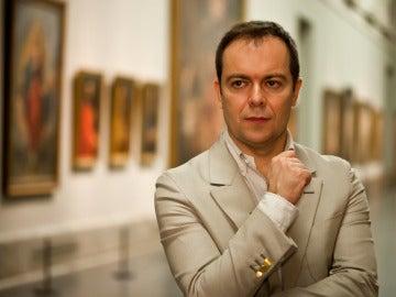 Javier Sierra en el Museo del Prado