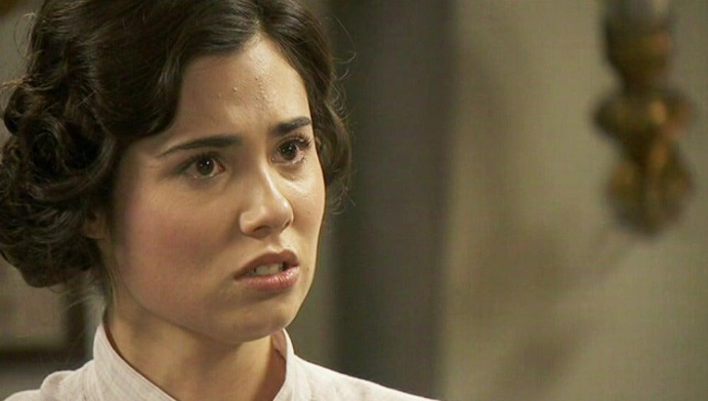 María le pide a Gonzalo que la deje en paz