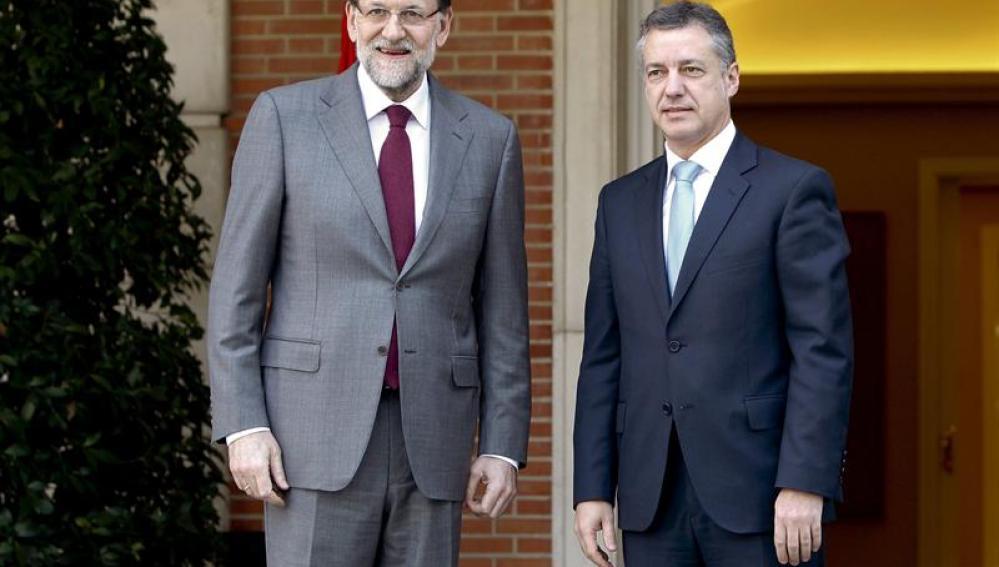 Reunión de Mariano Rajoy e Iñigo Urkullu