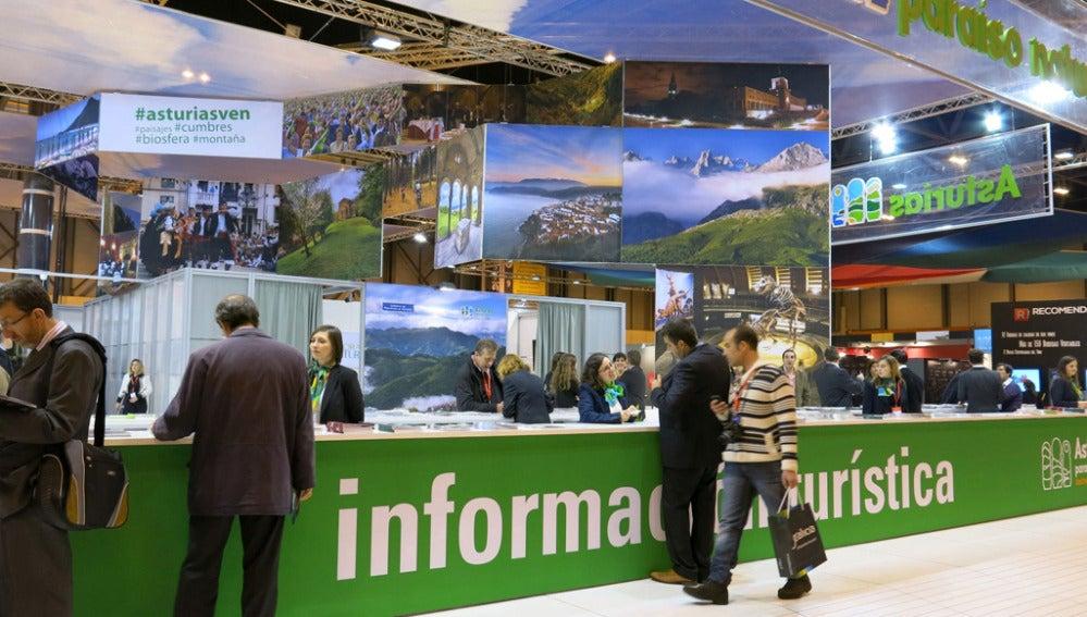 Stand de turismo del Principado de Asturias en Fitur 2013