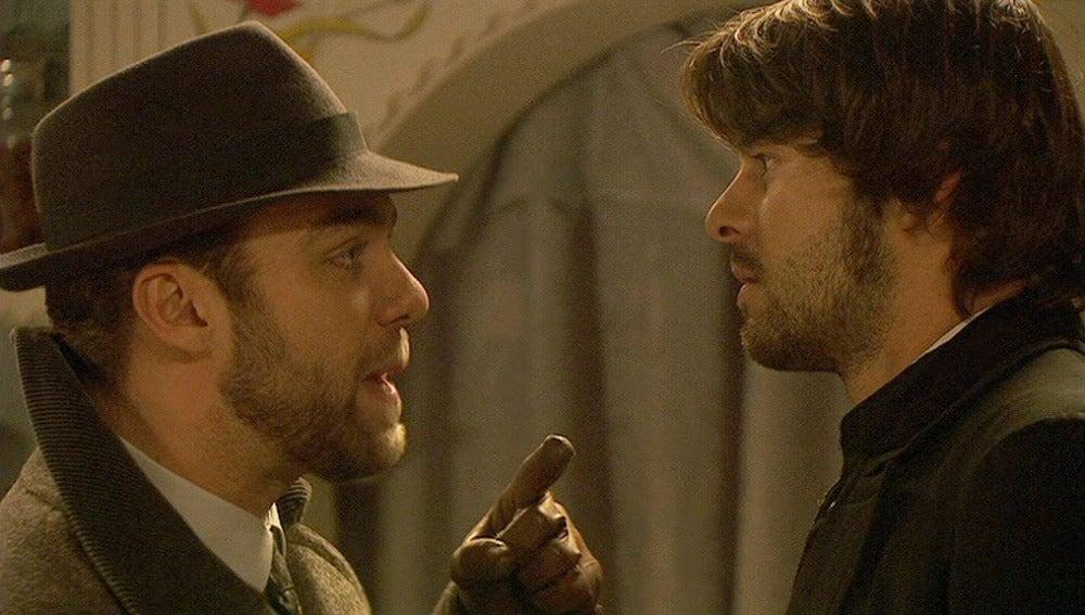 Fernando pide a Gonzalo que deje en paz a María