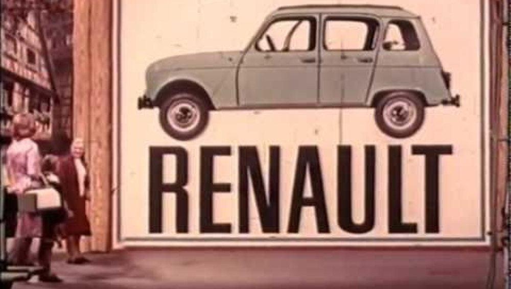 Anuncio Renault 4