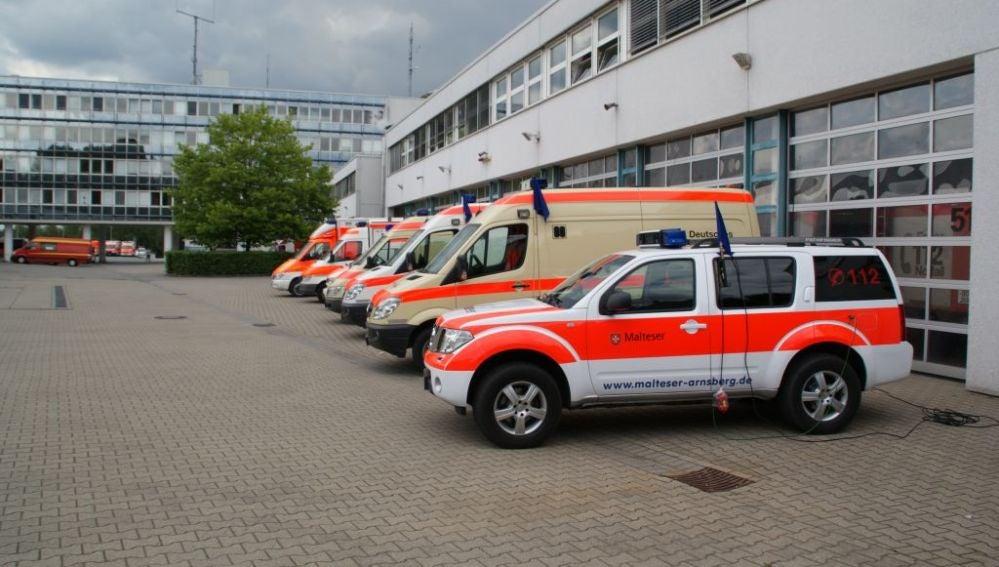 Ambulancias de la empresa Aim Arnsberg