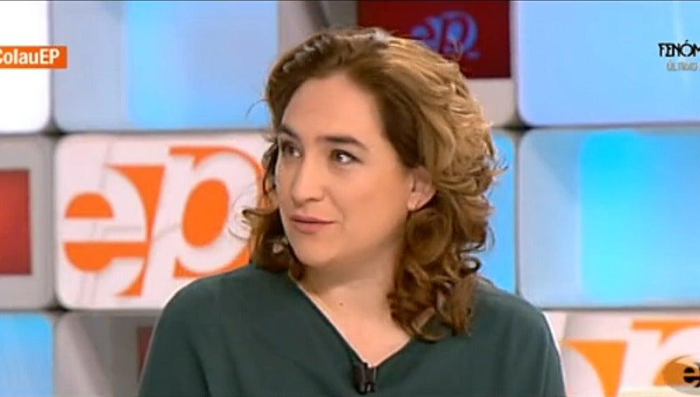 Ana Colau en Espejo Público
