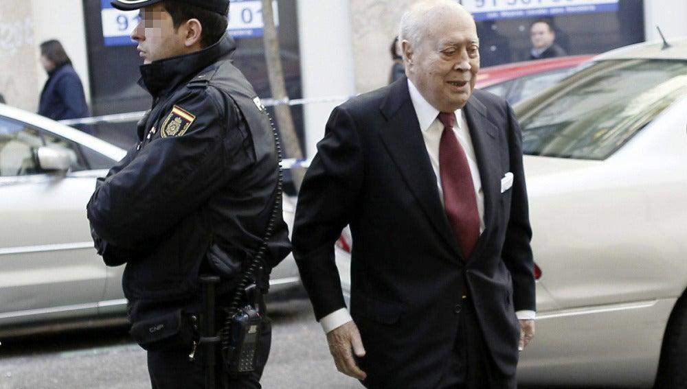 Álvaro Lapuerta, a su llegada a la Fiscalía Anticorrupción