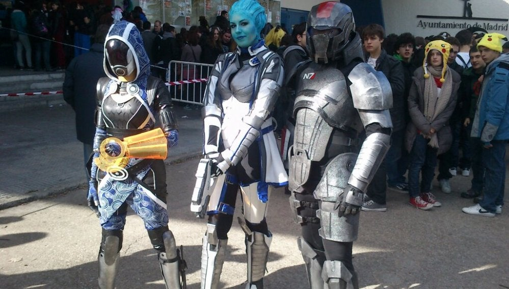 Cosplay en el 'Japan Weekend'
