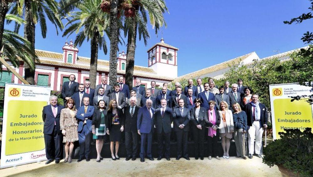 Jurado que seleccionó a los nuevos Embajadores Honorarios de la 'MarcaEspaña'