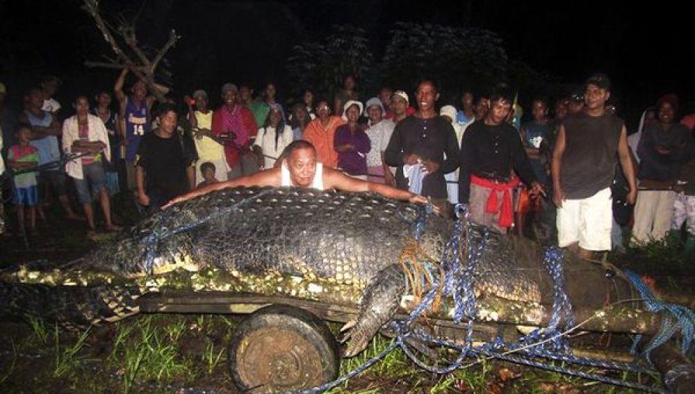 Lolong, el cocodrilo cautivo más grande del mundo