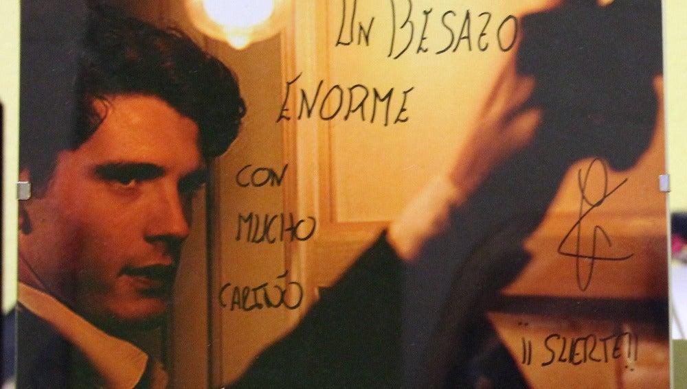 Foto firmada de Yon González