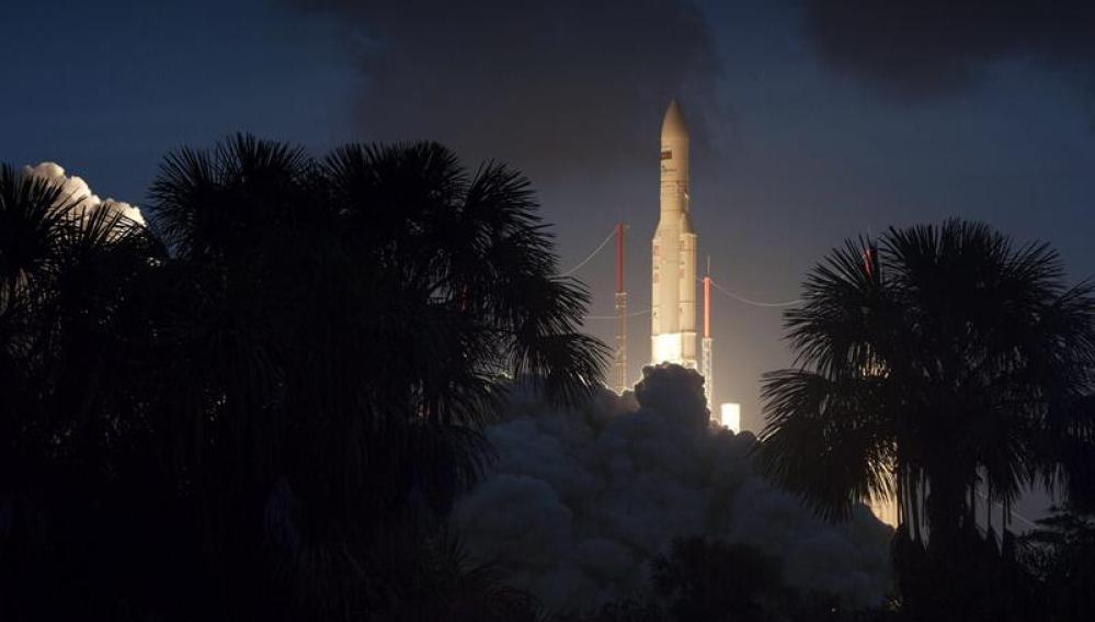 Lanzamiento del satélite Hispasat