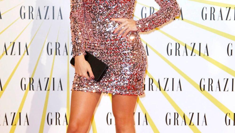 Úrsula Corberó, espectacular con un vestido de pailletes