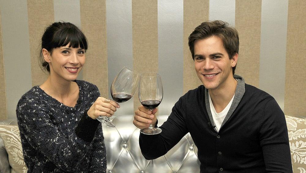 Bárbara Goenaga y Marc Clotet