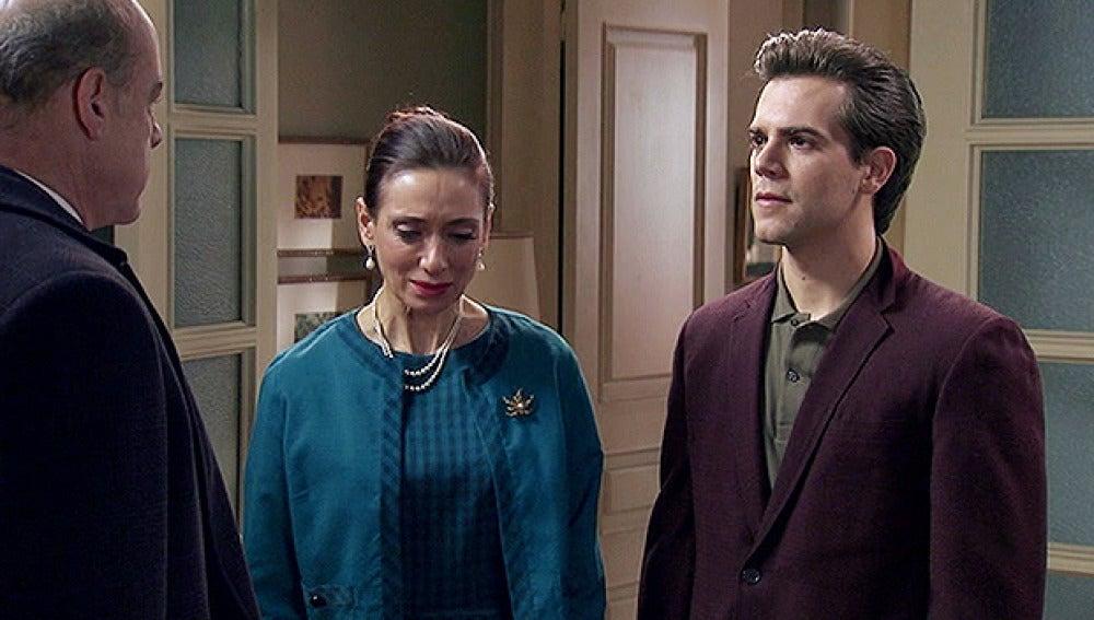 Mauro, Eusebio y Josefina
