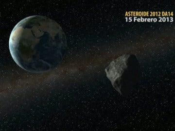 El asteroide será visible en España a partir de las 19:23