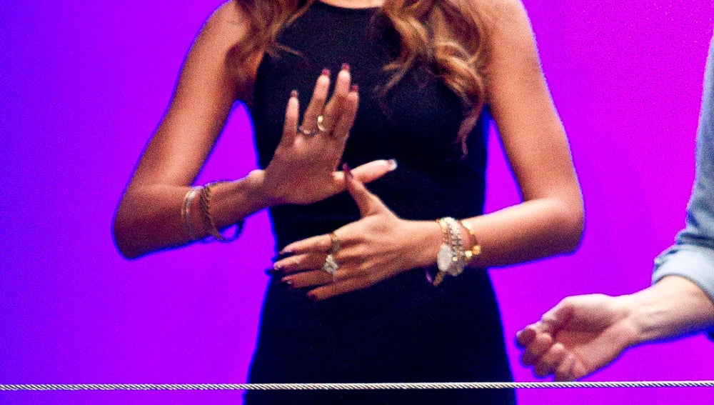 Rihanna, en la Semana de la Moda de Londres