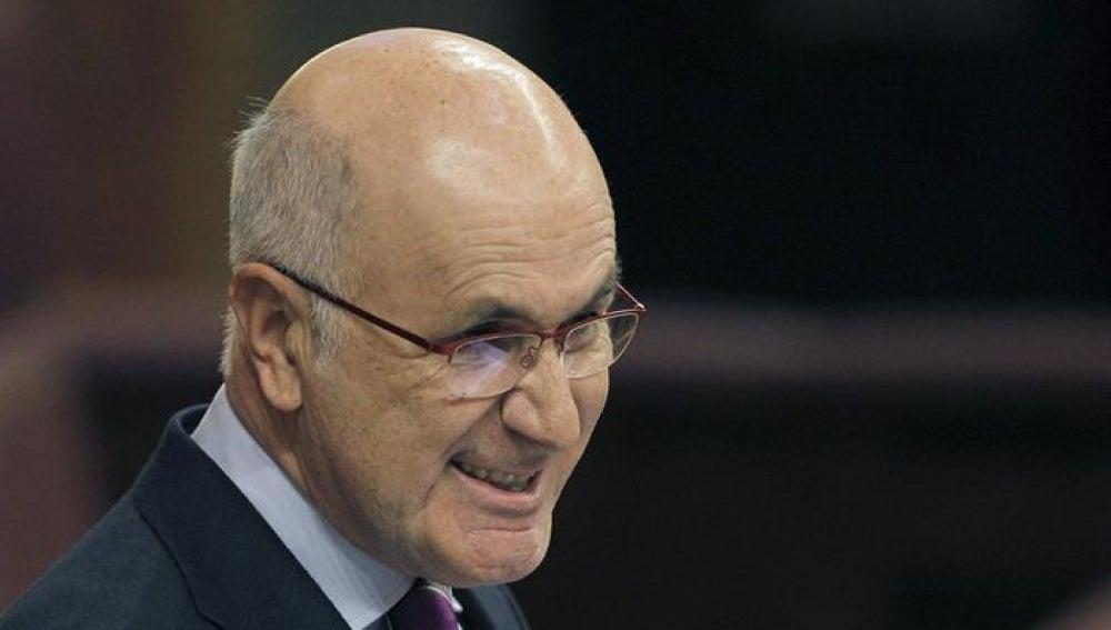 El portavoz de CiU en el Congreso, Josep Antoni Duran i Lleida
