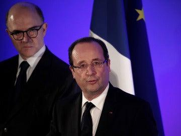 François Hollande, presidente francés