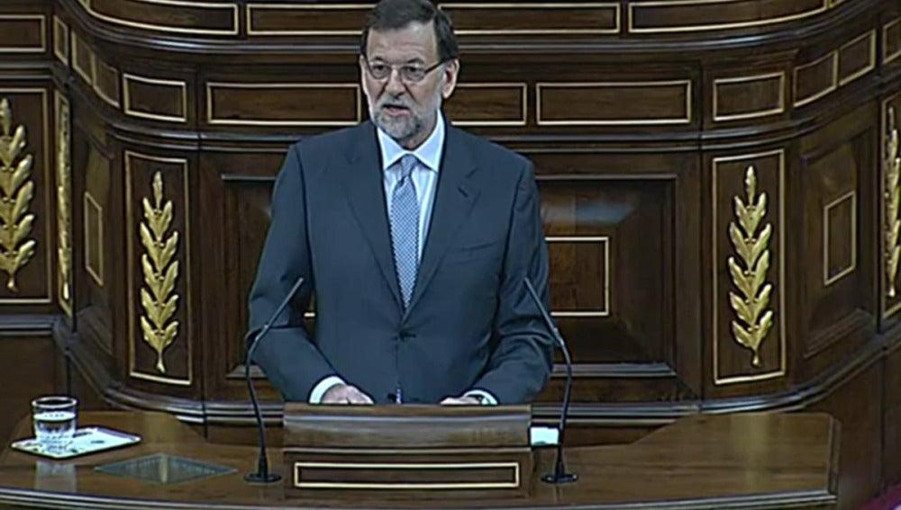 Comparecencia de Rajoy en el Congreso
