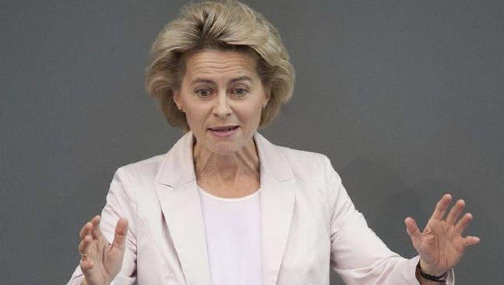 Ministra de Empleo alemana