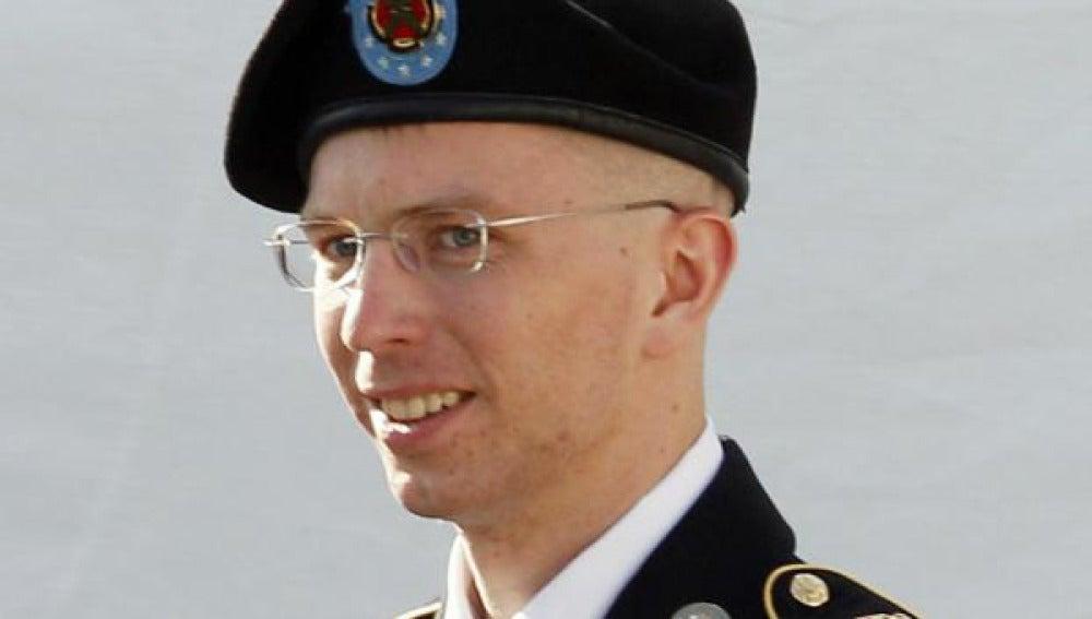 Imagen de archivo del soldado estadounidense Bradley Manning.