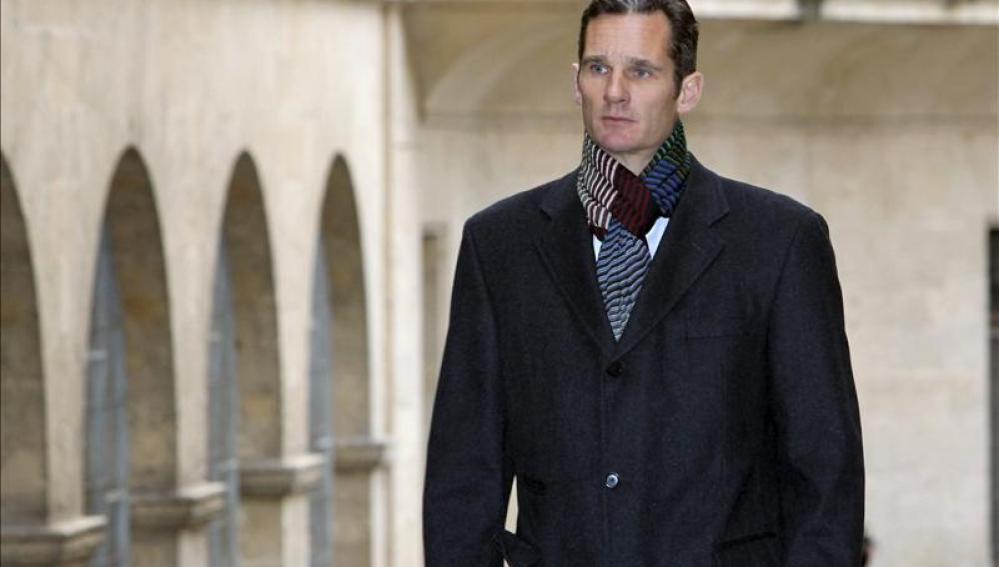 El duque de Palma, Iñaki Urdangarin, abandona los juzgados