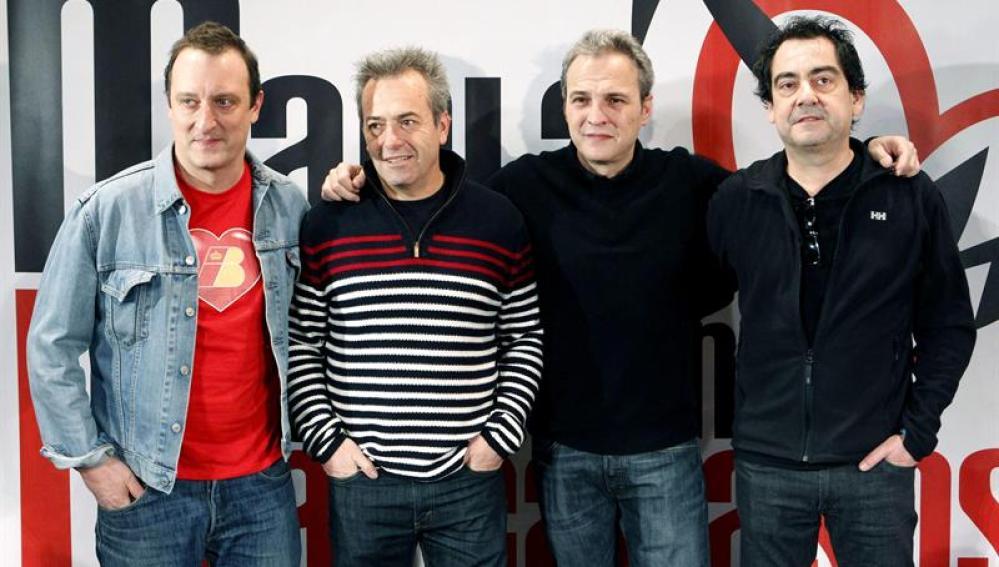 "Dani Mezquita, Rafa Gutiérrez, David Summers y Javi Molina presentan ""Marta tiene un marcapasos"""