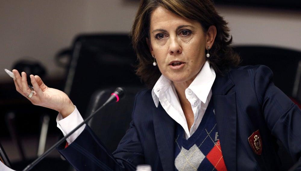 Yolanda Barcina, presidenta del Gobierno de Navarra