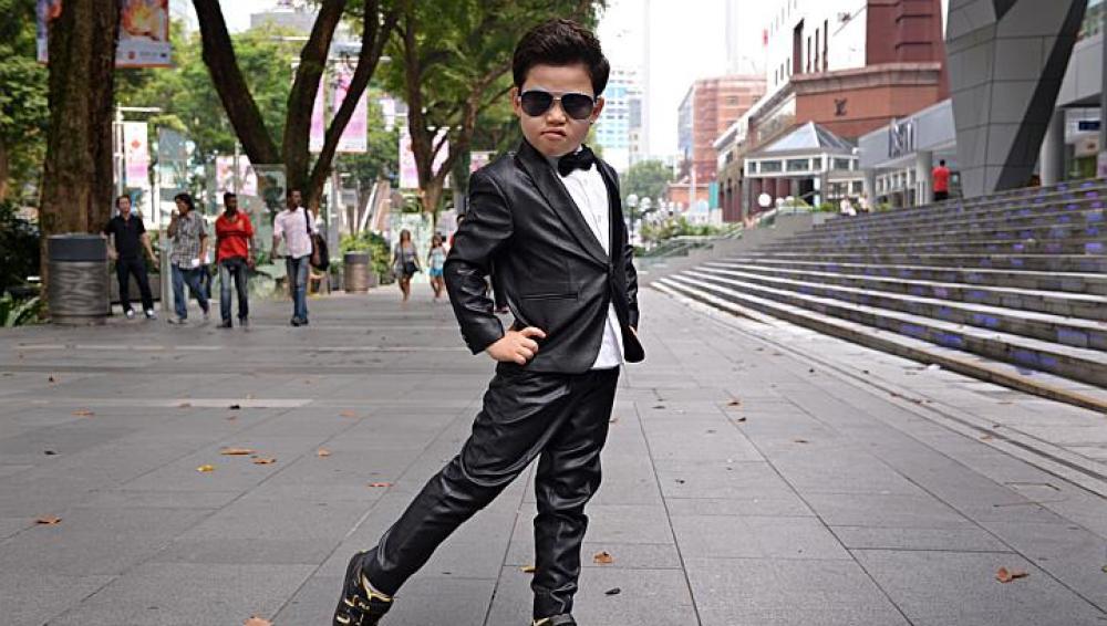 'Little PSY', una estrella en Corea del Sur