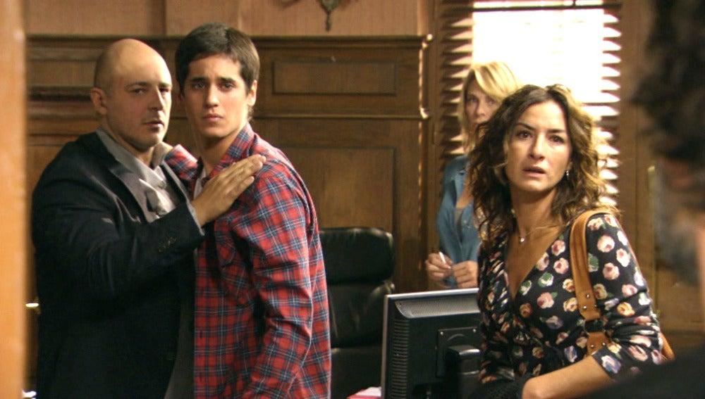 Pablo, Diego y Carola