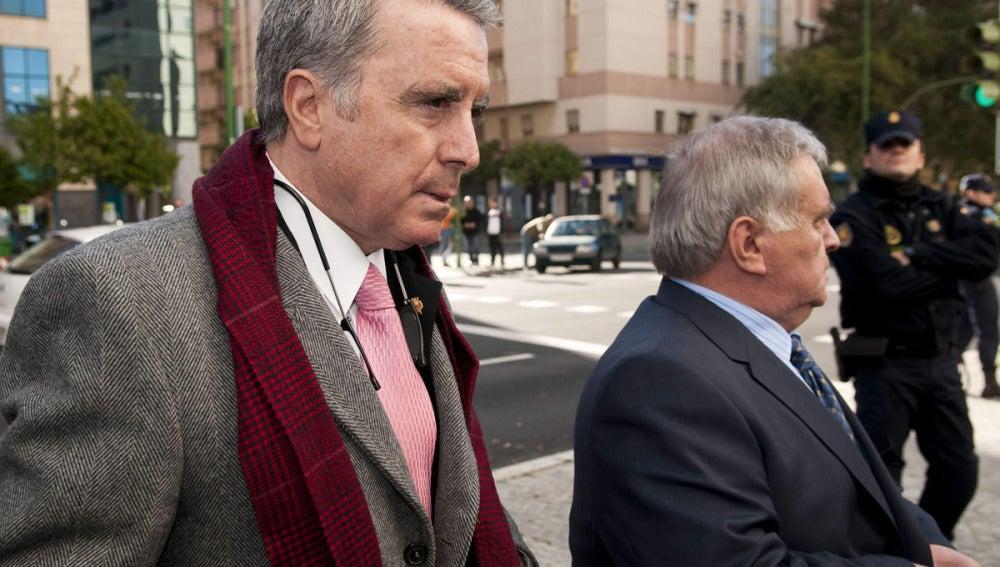 El torero José Ortega Cano a su llegada a los juzgados de Sevilla