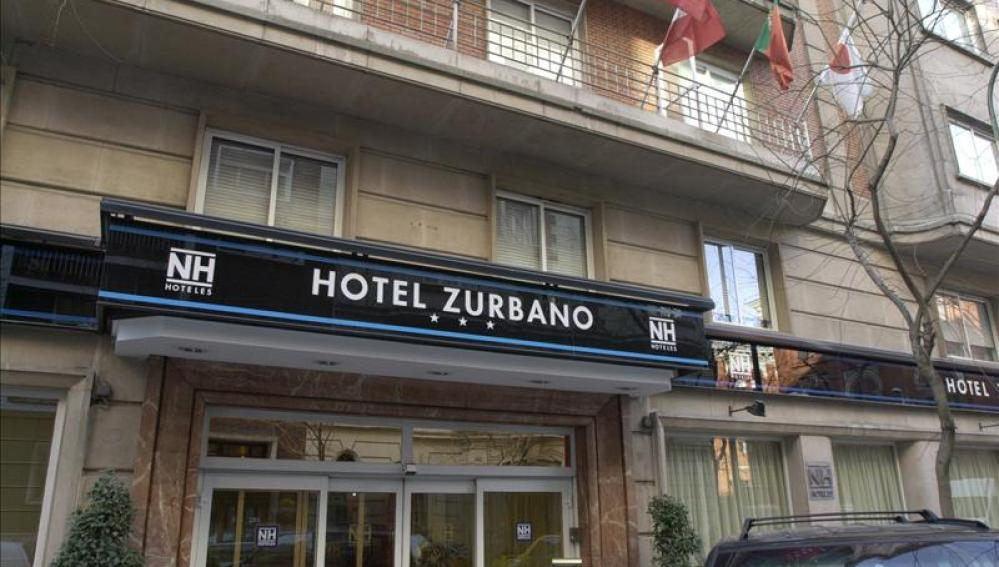 Fachada de uno de los hoteles que la cadena NH tiene en Madrid