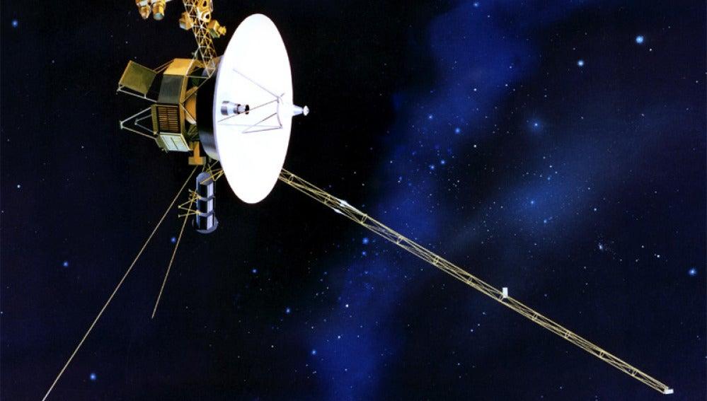 La nave espacial Voyager-1