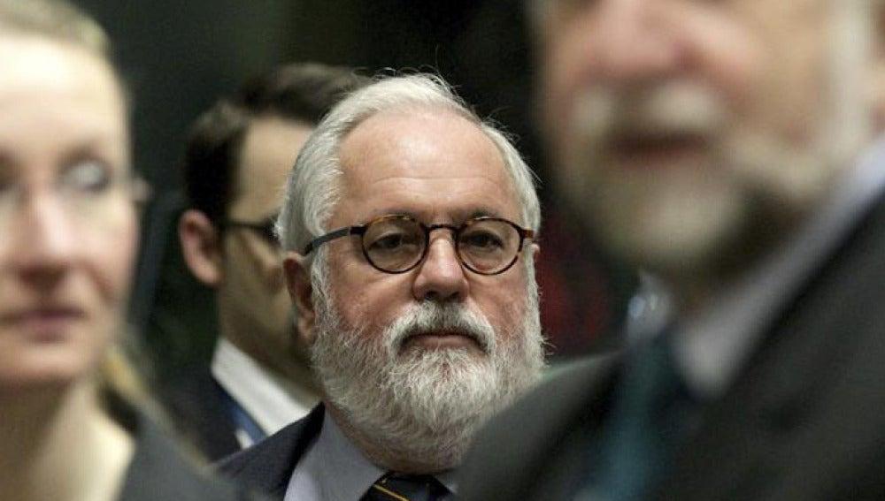 El ministro español de Agricultura, Alimentación y Medio Ambiente, Miguel Arias Cañete