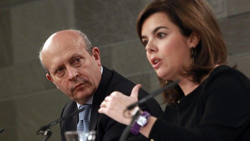 Wert y Santamaría, en Consejo de Ministros