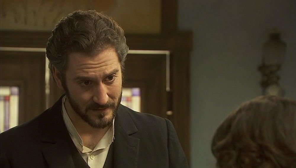 Tristán pide disculpas a Candela por el comportamiento de Aurora