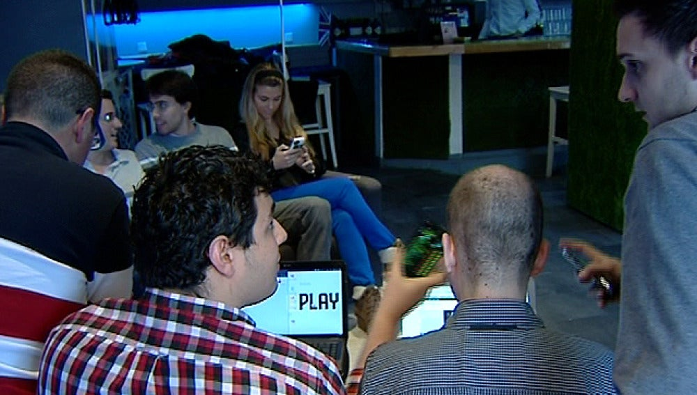 Jóvenes emprendedores en España